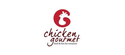 Mẫu logo con gà đẹp - 25