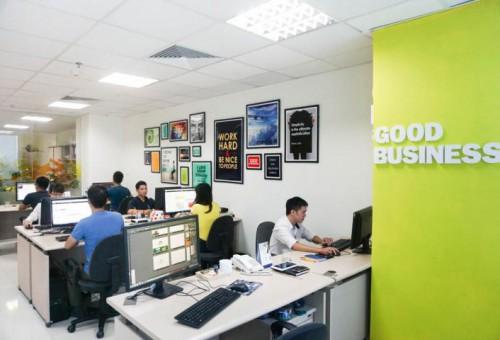 Văn phòng làm việc đẹp, sáng tạo của Sao Kim