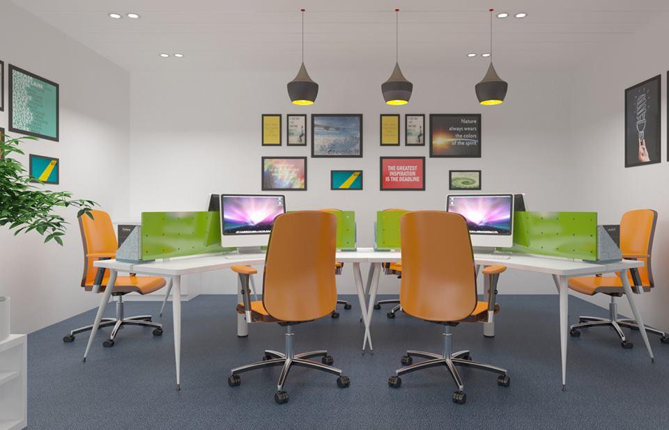 Văn phòng làm việc hiện đại & phong cách