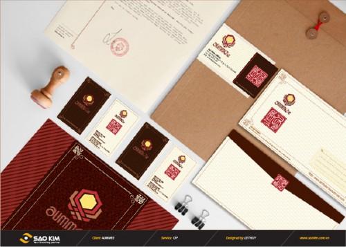 Hệ thống nhận diện thương hiệu nhà hàng