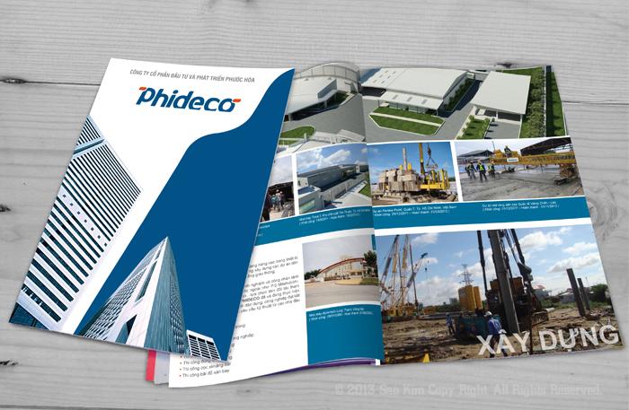 Thiết kế hồ sơ năng lực Phideco