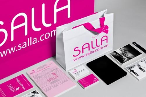 Nhận diện thương hiệu thời trang nữ Salla