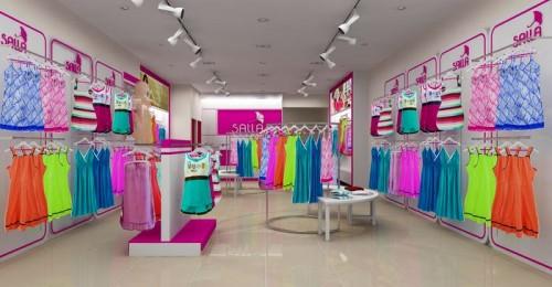 Thiết kế showroom thời trang Salla