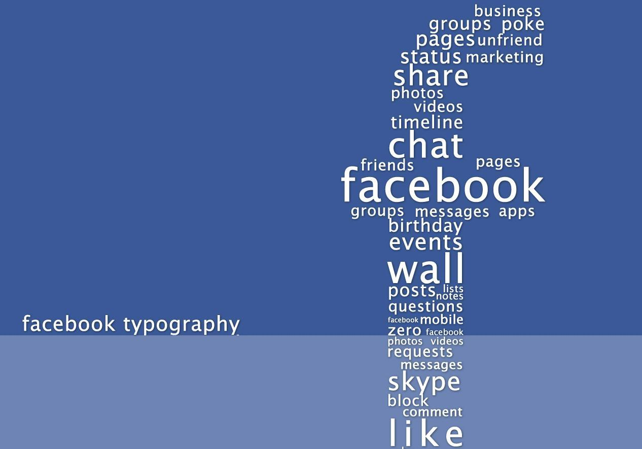 Facebook-typography