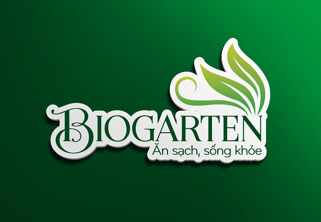 Thiet-ke-logo-thuc-pham-Bio-Garten