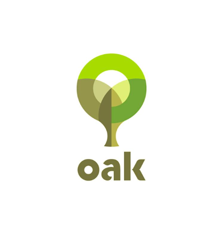 Thiết kế logo chồng lấn nhau 2019