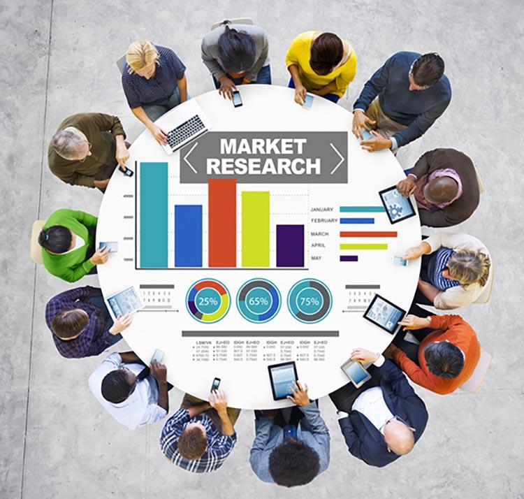 Nghiên cứu thị trường để xác định đối tượng truyền thông.