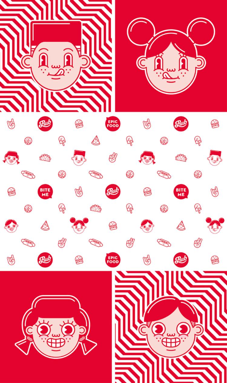 Xu hướng thiết kế logo vui vẻ và sống động 2019.