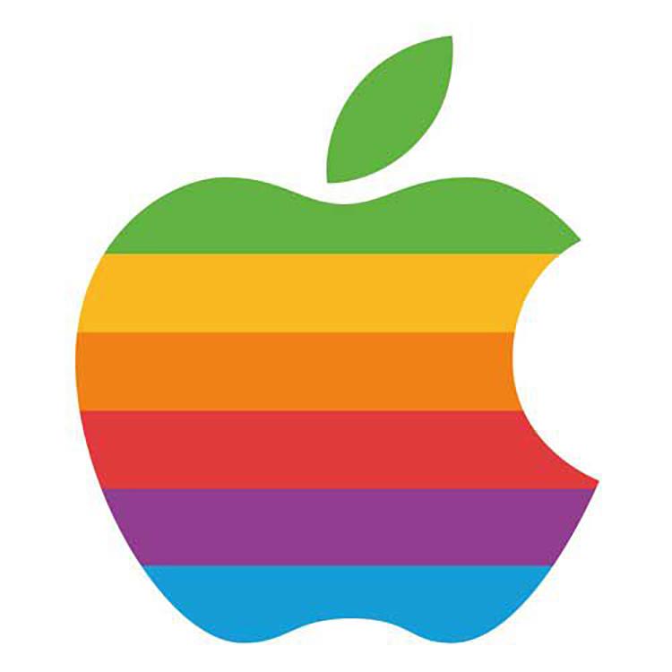 Mẫu thiết kế logo Apple của Rob Janoff và Regis McKenna năm 1977.