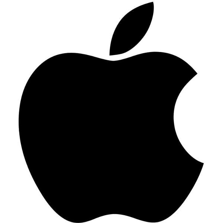 Mẫu thiết kế logo Apple năm 1988.