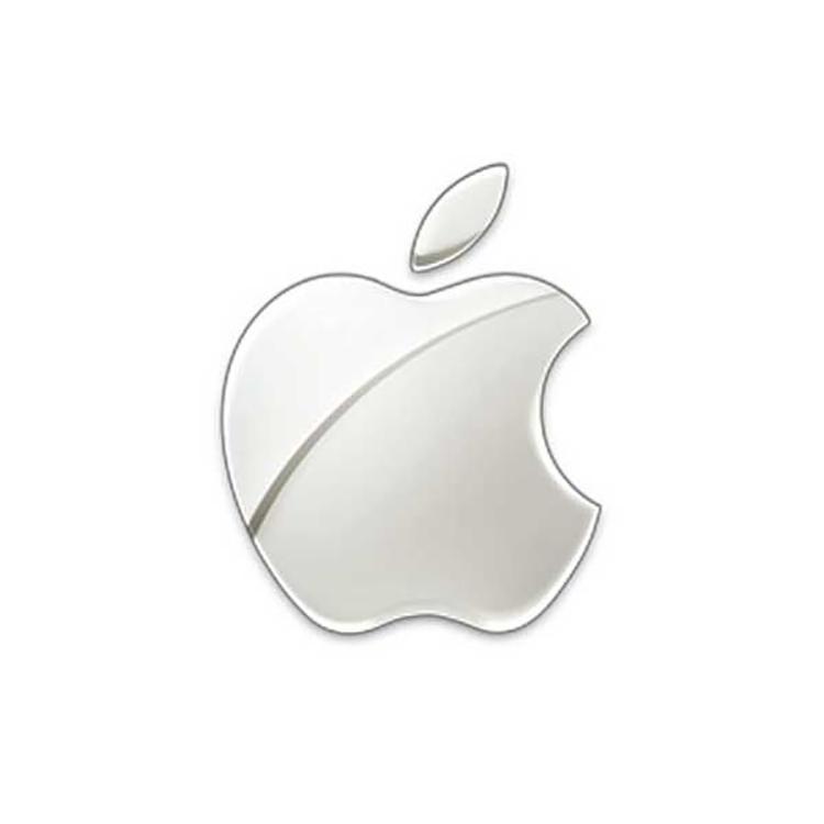 Mẫu thiết kế logo Apple năm 2007.