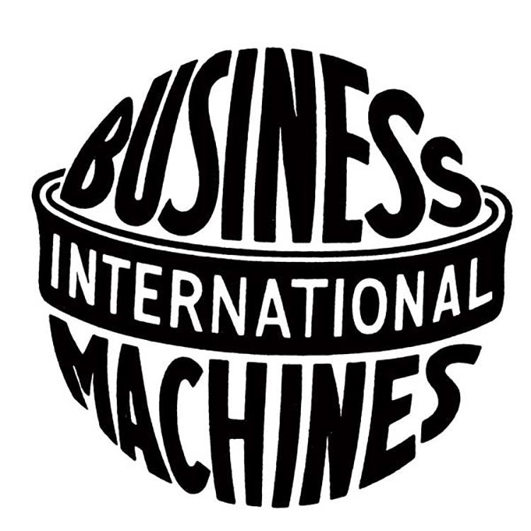 Mẫu thiết kế IBM năm 1924.