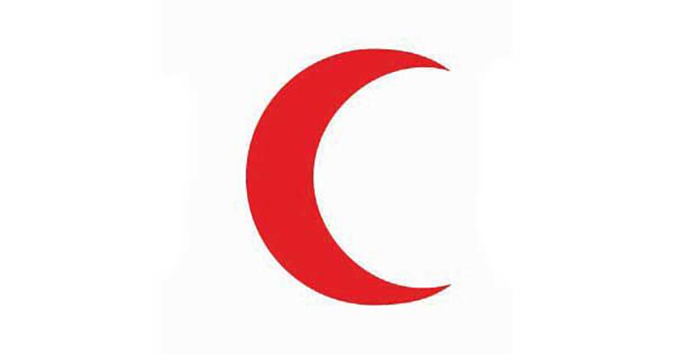 Lưỡi liềm đỏ, lần đầu tiên được sử dụng bởi Đế chế Ottoman vào năm 1876.