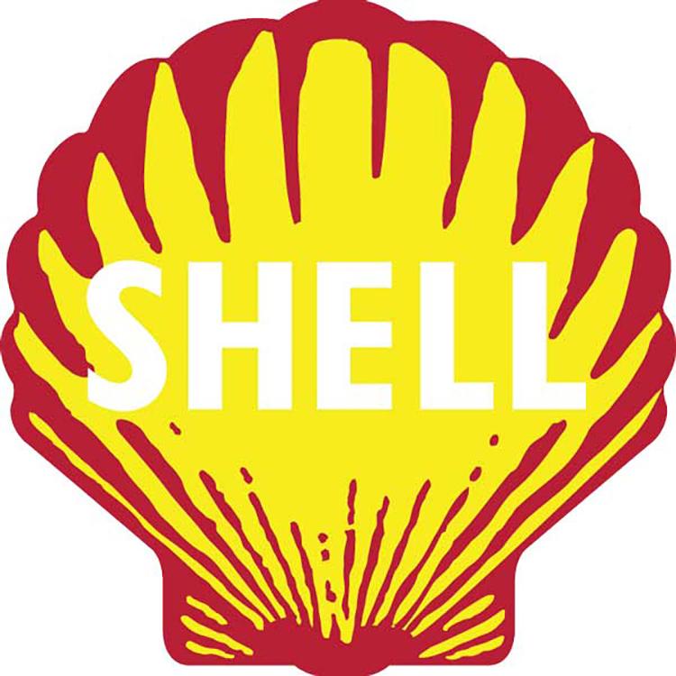 Mẫu thiết kế logo của Shell năm 1948.