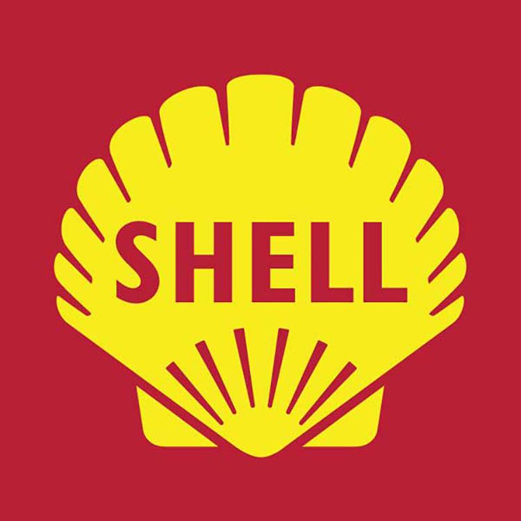 Mẫu thiết kế logo của Shell năm 1961.