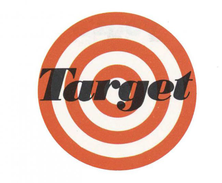 Thiết kế gốc của logo Target.