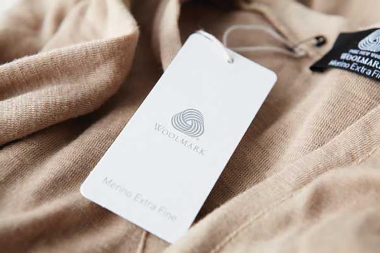 Woolmark được sử dụng trên nhiều loại hàng may mặc.