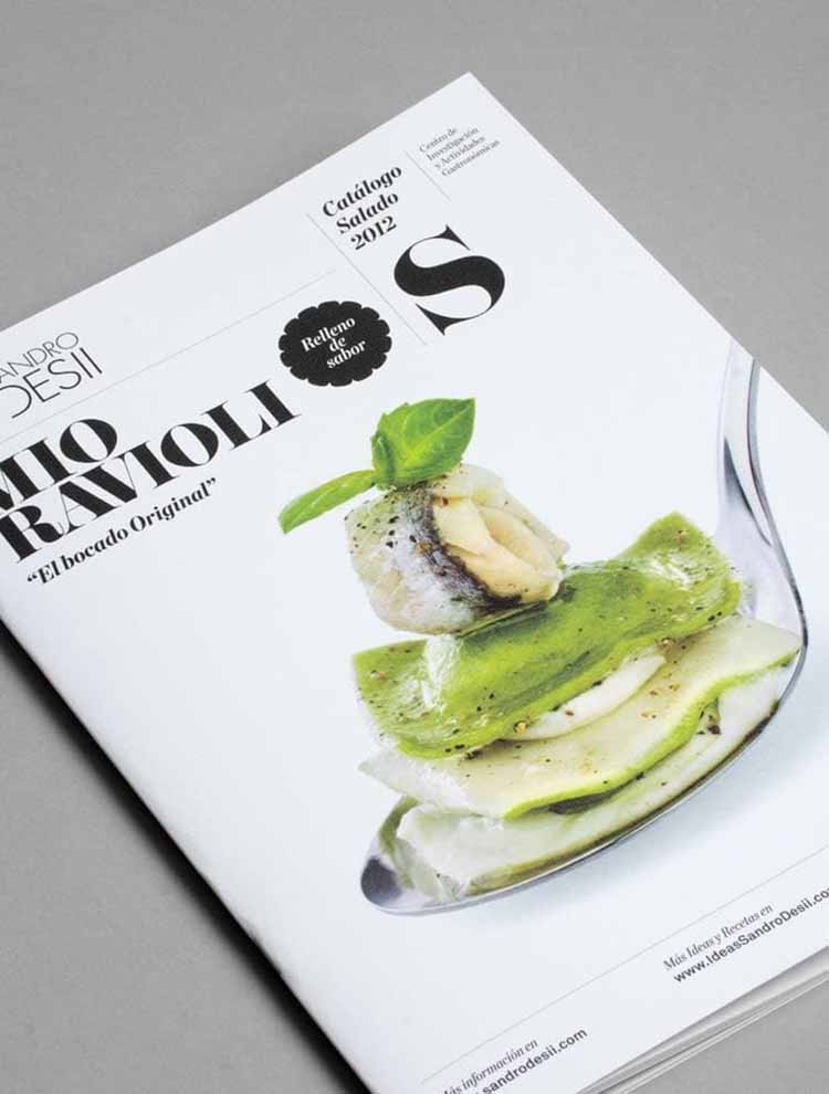 Thiết kế Catalogue của Sandro Desii