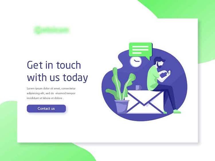 Thiết kế trang liên hệ cho website đẹp và hoàn hảo.