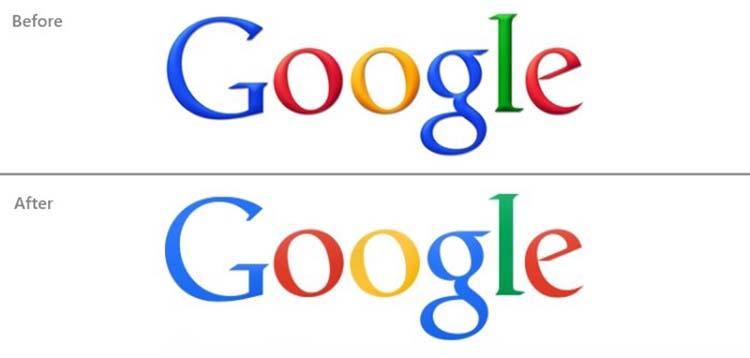 Thiết kế logo của Google.