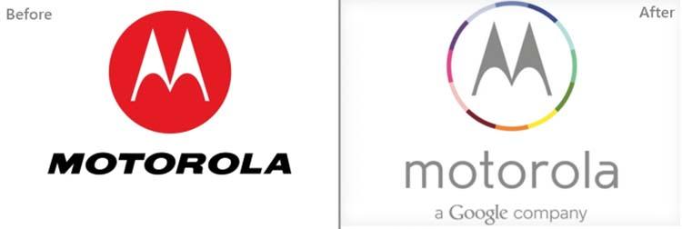 Thiết kế logo của Motorola.