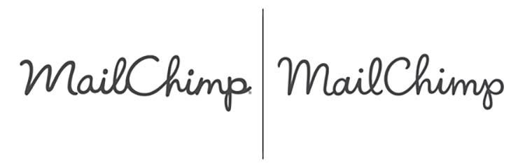 Thiết kế logo của MailChimp.