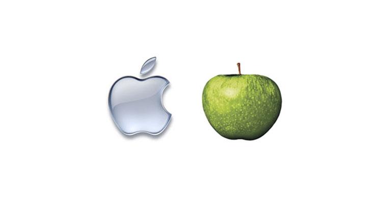 Thiết kế logo của Apple.