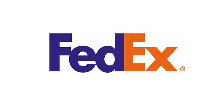 Thiết kế logo của FedEx.