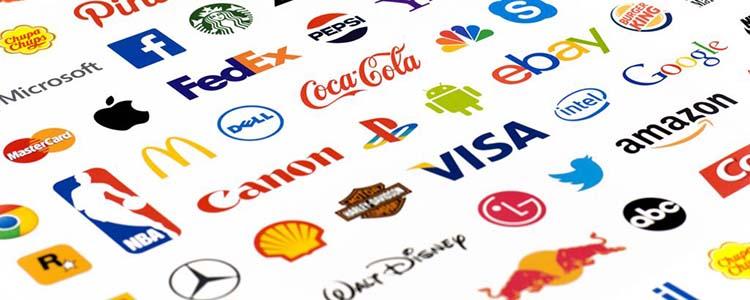 Thiết kế logo của những thương hiệu nổi tiếng.