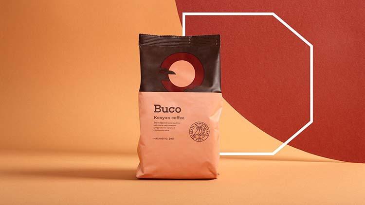 Thiết kế bao bì của thương hiệu cà phê Buco Coffee sẽ mang bạn đi khắp thế giới.