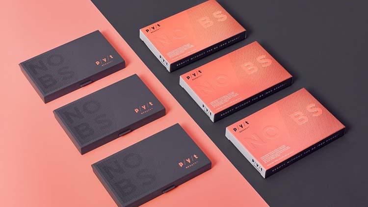 Thiết kế bao bì bên ngoài và bên trong của thương hiệu mỹ phẩm PYT.