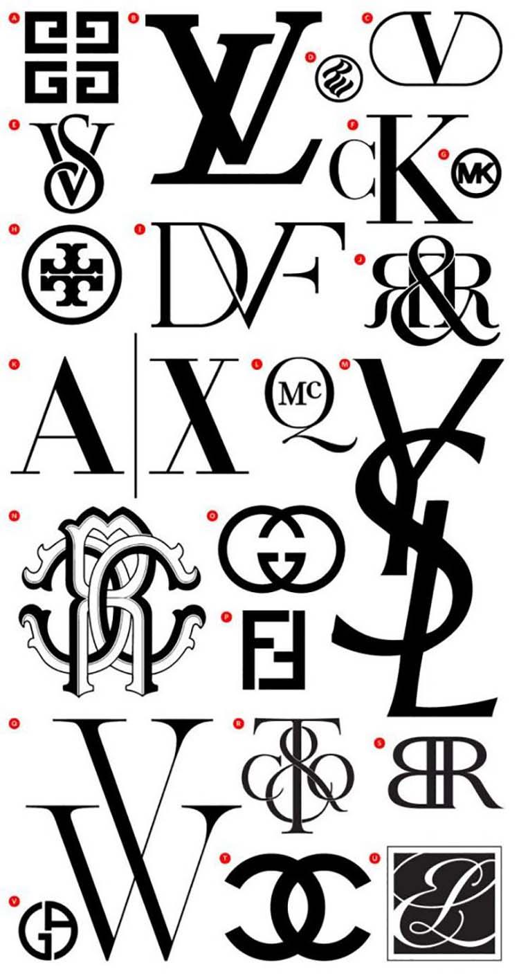 Sử dụng kiểu thiết kế logo Monogram trong thiết kế thương hiệu.