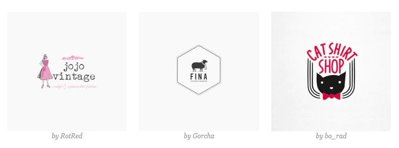 Các Mẫu Logo thời trang độc đáo (2)