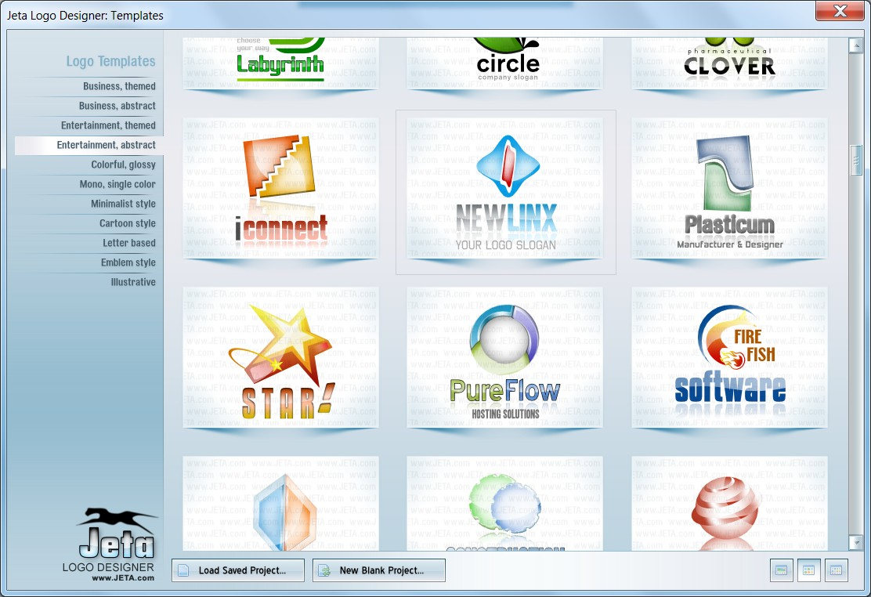 Phần mềm thiết kế logo Jeta