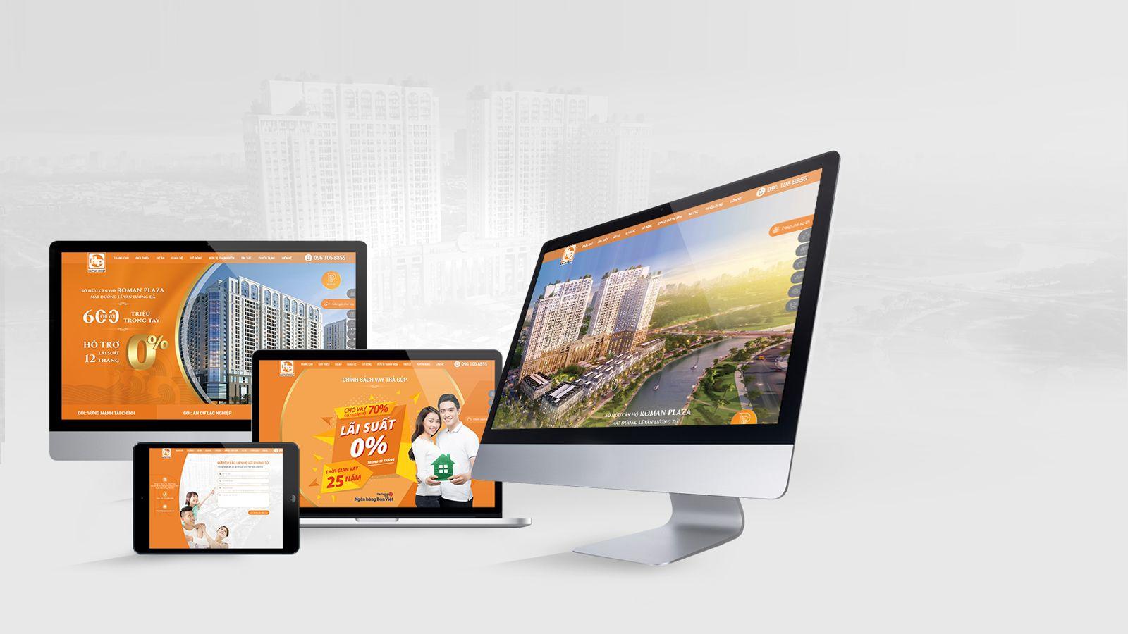 Website là thành phần quan trọng nhất của bộ nhận diện thương hiệu số
