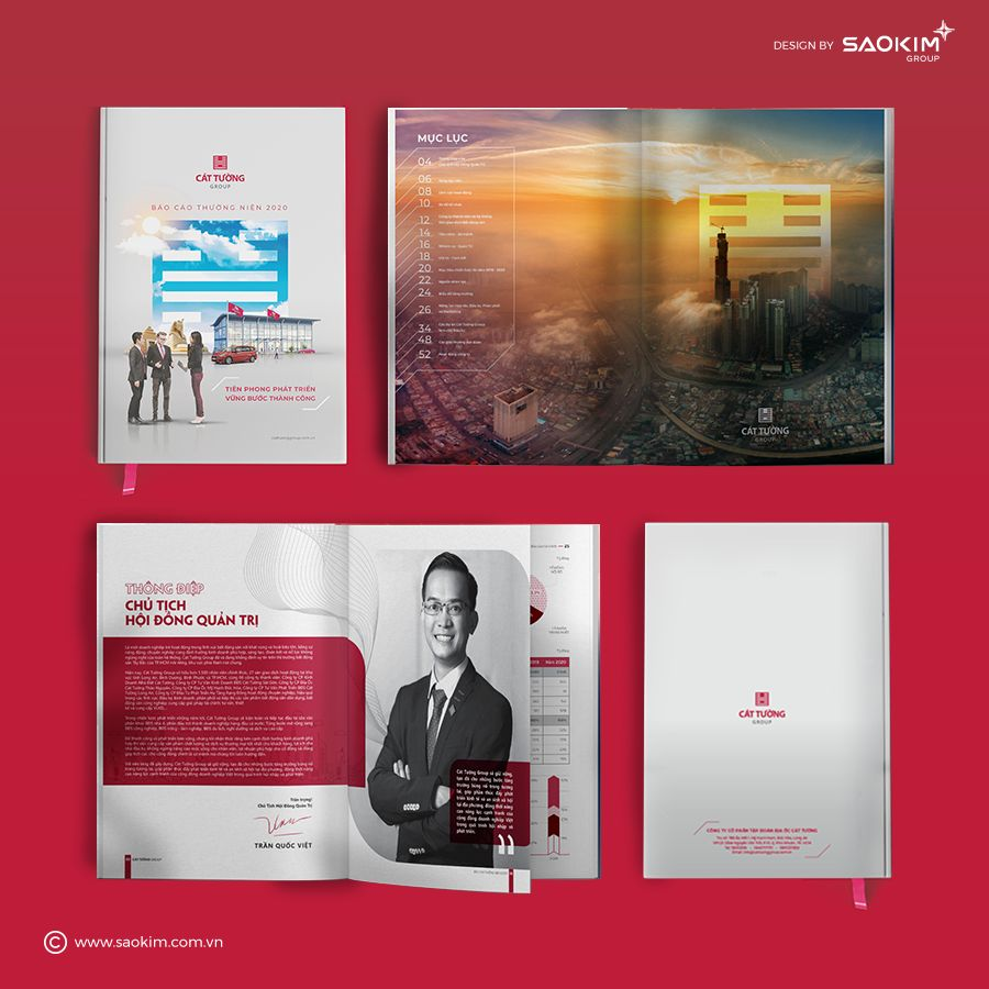 Cẩm nang thiết kế profile công ty