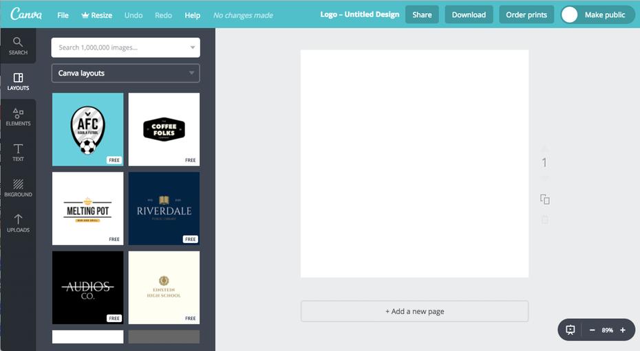 13 trang web thiết kế logo