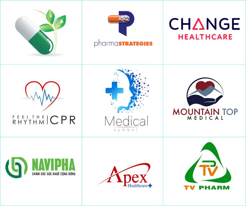 [Saokim.com.vn] Top 50+ thiết kế logo ngành Y Dược