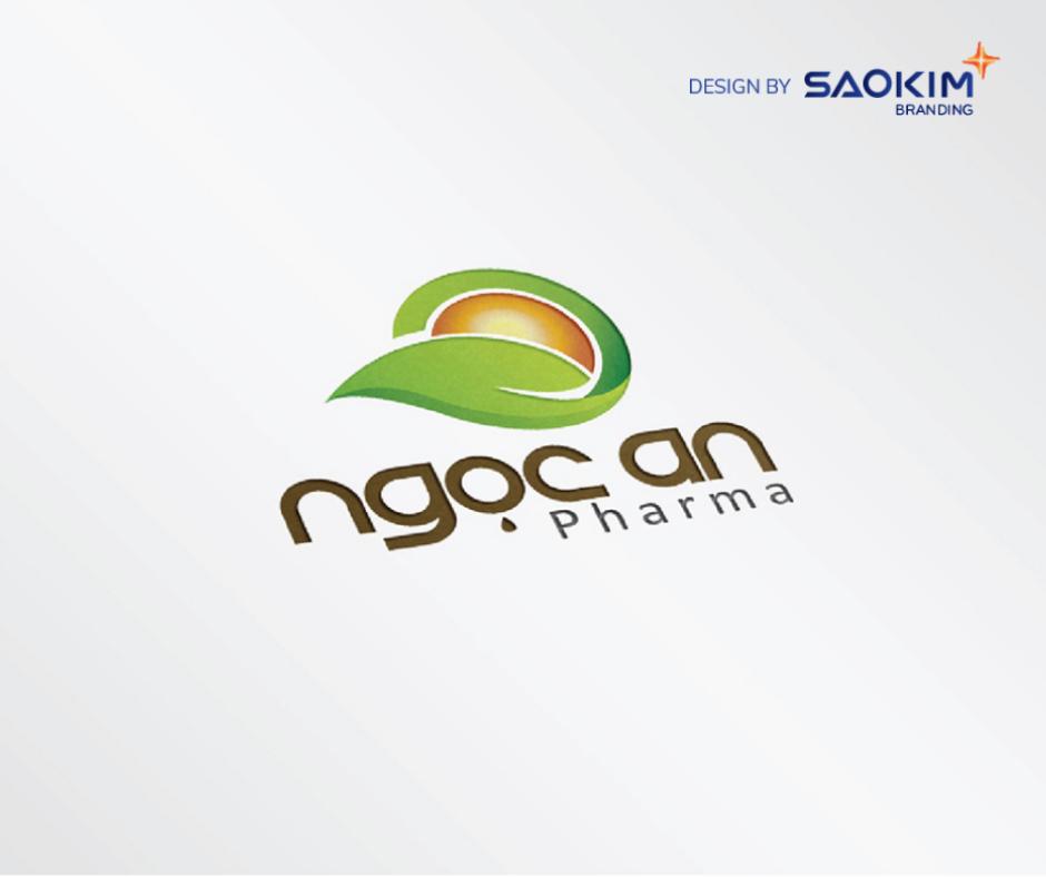 [Saokim.com.vn] Logo Công ty cổ phần Ngọc An Pharma thiết kế bởi Sao Kim Branding