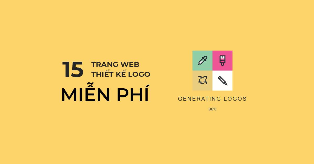 Các trang web thiết kế Logo miễn phí tốt nhất