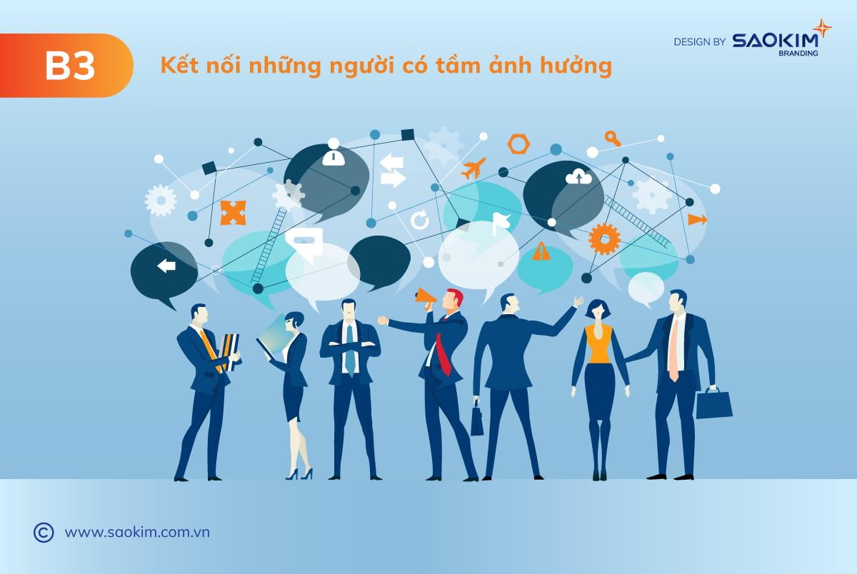 [Saokim.com.vn] Xây dựng thương hiệu cá nhân cần Kết nối với những người có tầm ảnh hưởng