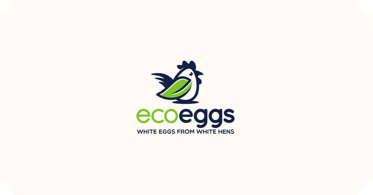 Mẫu Logo con gà đẹp, sáng tạo 12