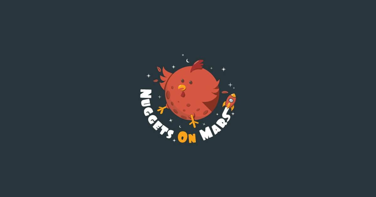 Mẫu Logo con gà đẹp, sáng tạo 15