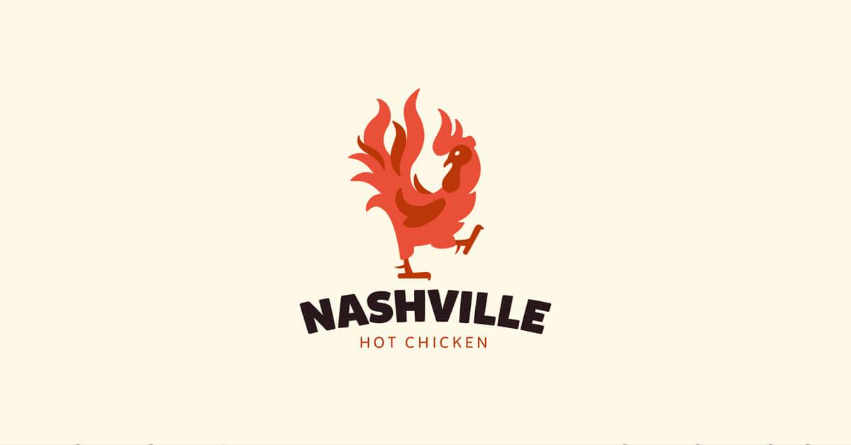 Mẫu Logo con gà đẹp, sáng tạo 16