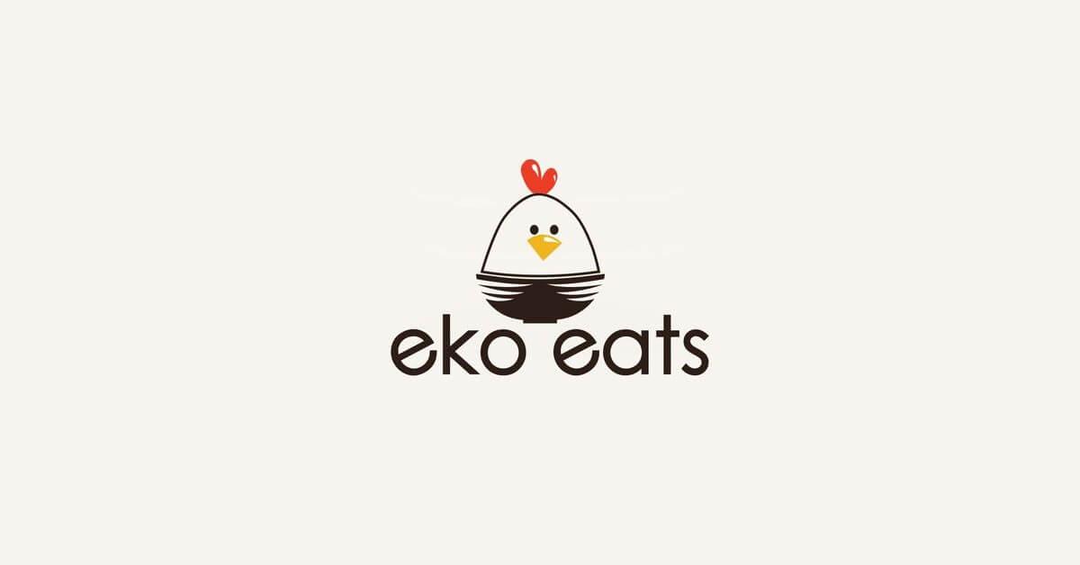 Mẫu Logo con gà đẹp, sáng tạo 19