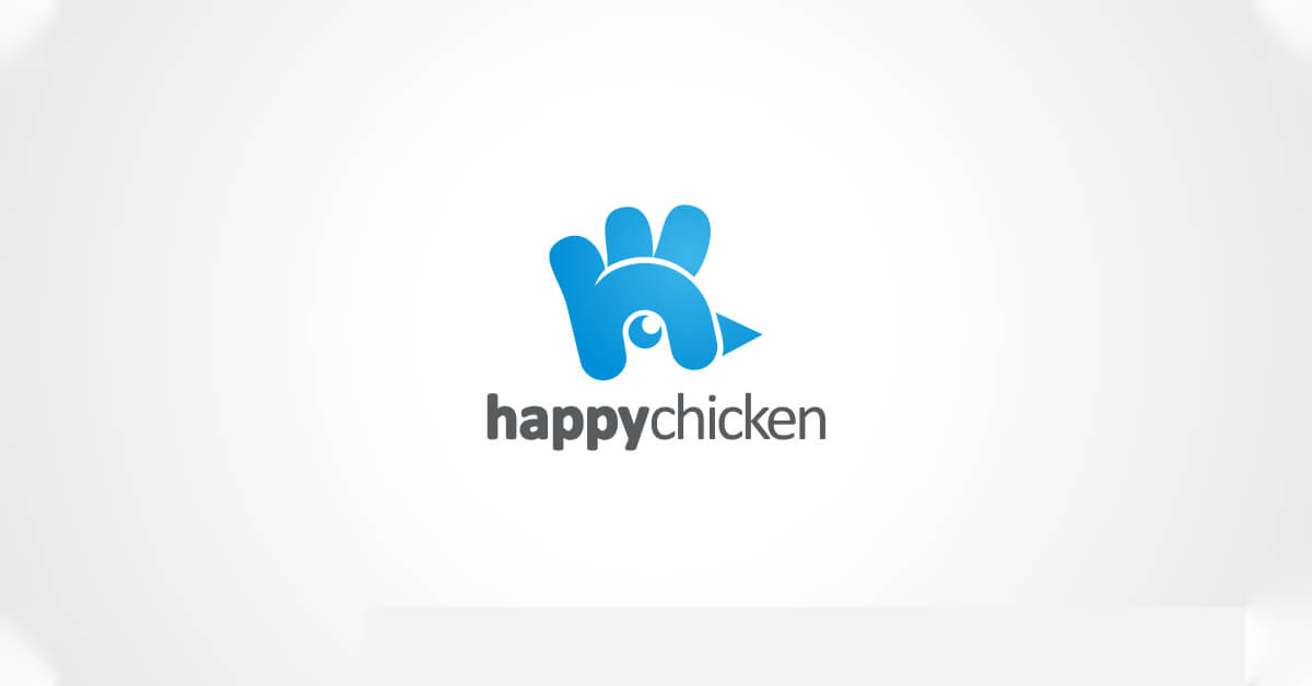 Mẫu Logo con gà đẹp, sáng tạo 5
