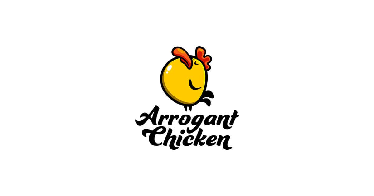 Mẫu Logo con gà đẹp, sáng tạo 7