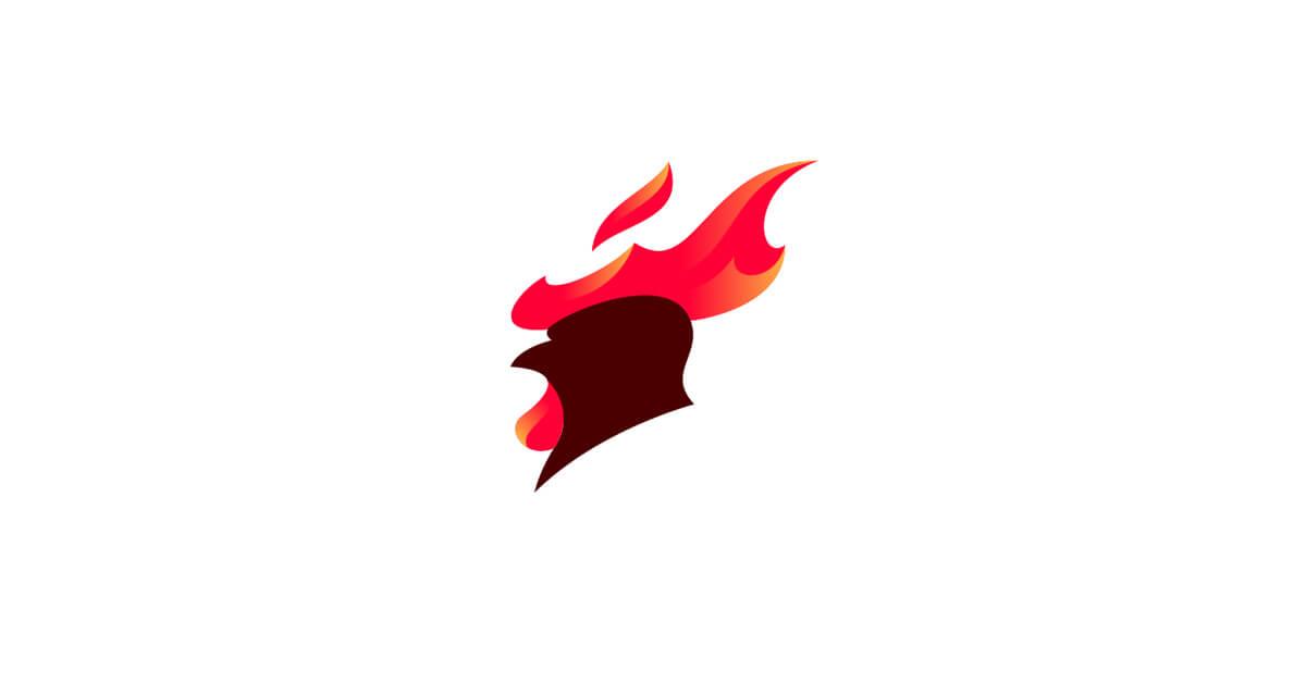 Mẫu Logo con gà đẹp, sáng tạo 8
