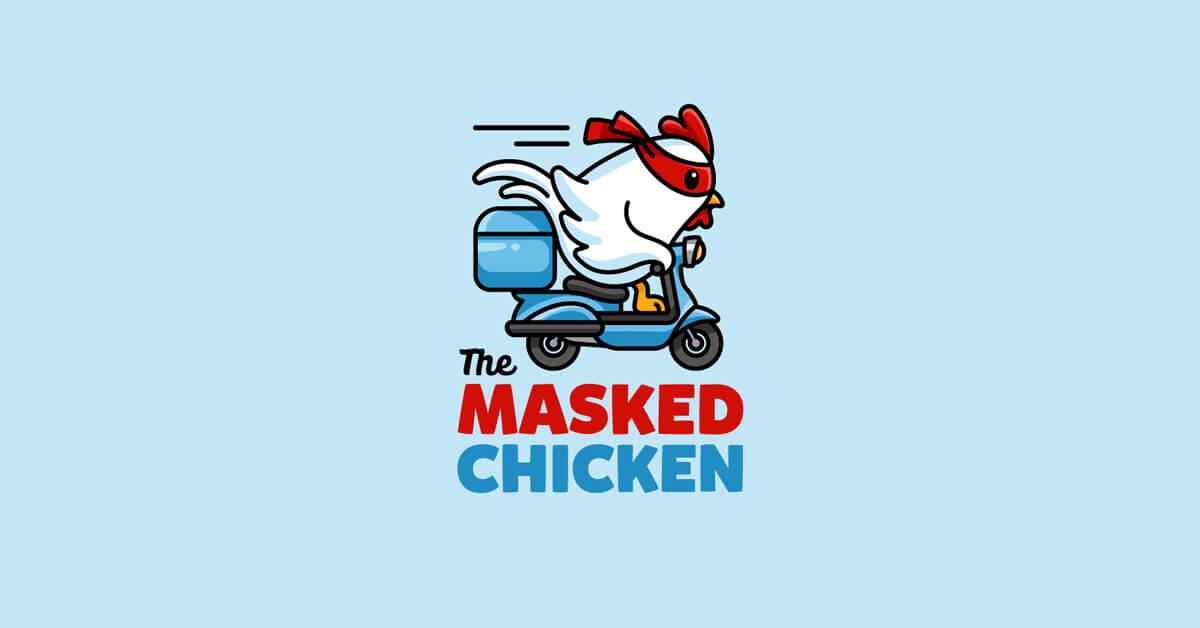 Mẫu Logo con gà đẹp, sáng tạo 9