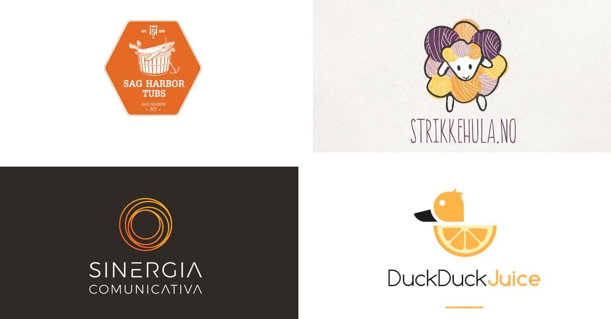 Cách chọn màu Logo: Logo màu cam